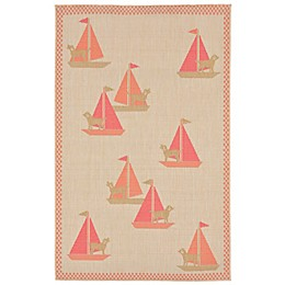 Liora Manne Sailing Dogs Summer Rug Collection
