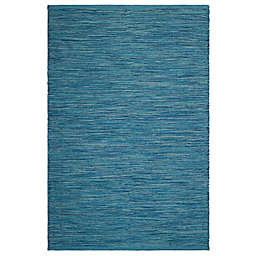 Fab Habitat Cancun Blue Indoor/Outdoor Rug Collection