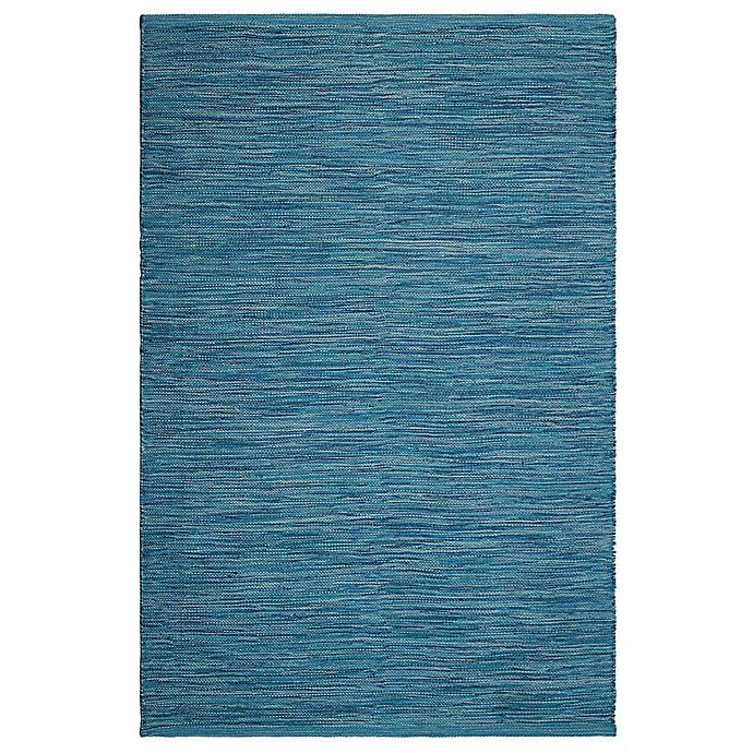 Alternate image 1 for Fab Habitat Cancun Blue 8-Foot x 10-Foot Indoor/Outdoor Area Rug