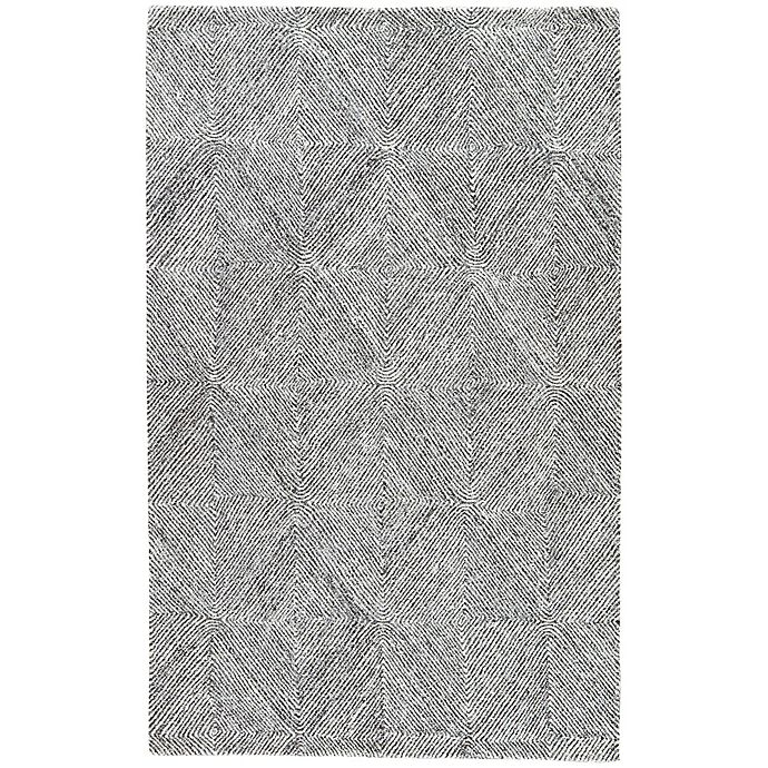 Alternate image 1 for Jaipur Exhibition 8-Foot x 11-Foot Area Rug in White/Grey