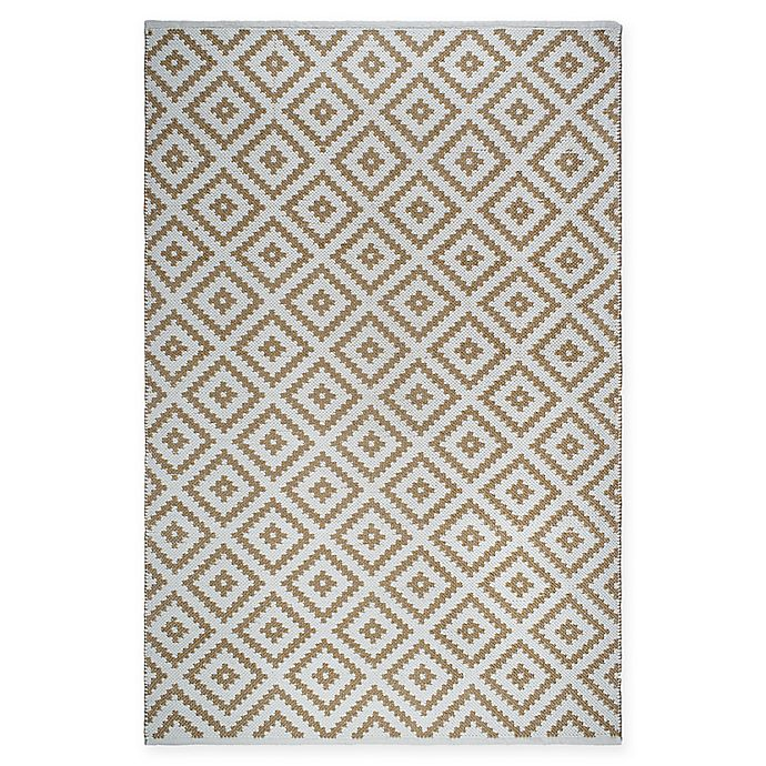 Alternate image 1 for Fab Habitat Chanler 6-Foot x 9-Foot Indoor/Outdoor Area Rug in Almond/White