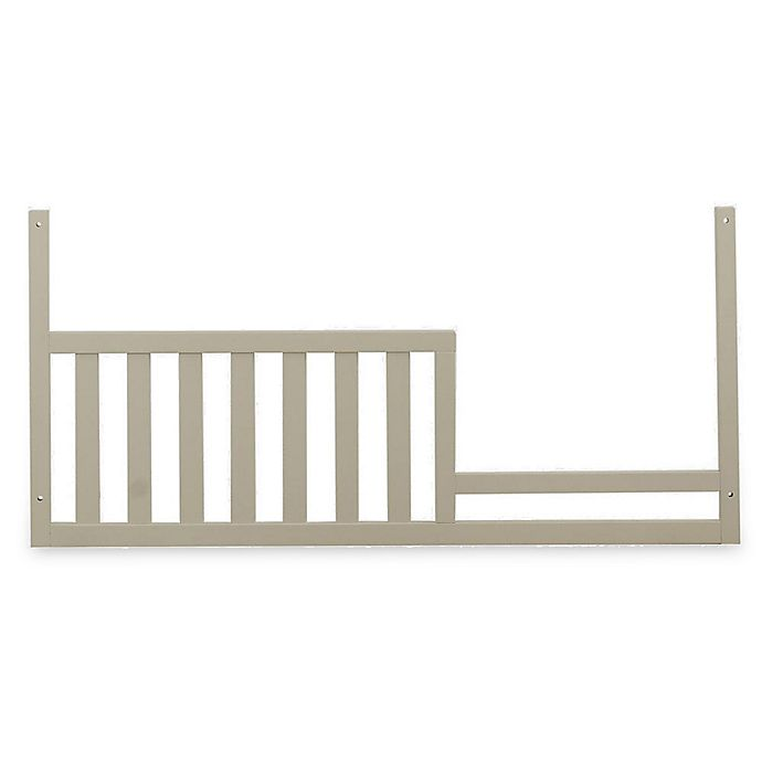 Alternate image 1 for Suite Bebe Julia Toddler Guard Rail in White Linen