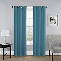 SolarShield® Mandalay Grommet Top Room Darkening Window Curtain Panel