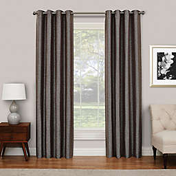 Eclipse Presto 63-Inch Grommet Top Room Darkening Window Curtain Panel in Chocolate