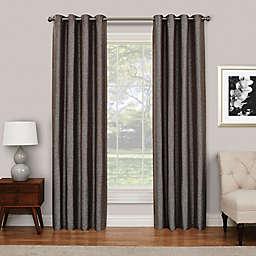 Eclipse Presto 108-Inch Grommet Top Room Darkening Window Curtain Panel in Chocolate