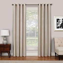 Eclipse Presto 108-Inch Grommet Top Room Darkening Window Curtain Panel in Ivory (Single)
