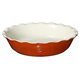 Emile Henry 9-Inch Pie Dish in Pumpkin