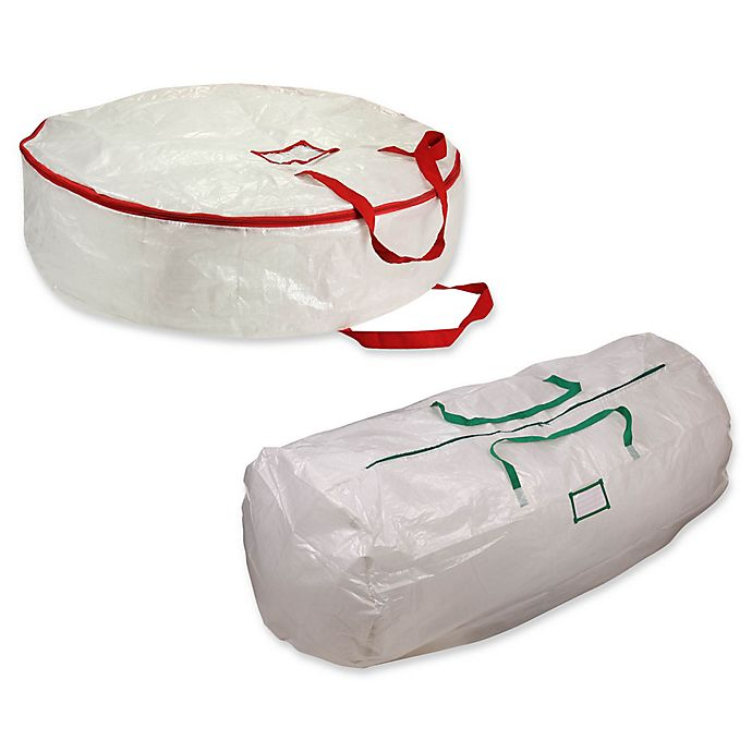 Alternate image 1 for Household Essentials® Holiday Storage Bag Collection