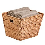 Honey Can Do Square Water Hyacinth Basket
