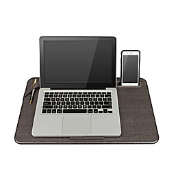 Lapgear® Large Deluxe Elevation Lap Desk in Linen Gray