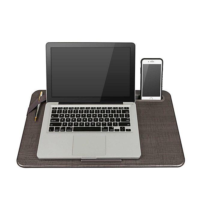 Alternate image 1 for Lapgear® Large Deluxe Elevation Lap Desk in Linen Gray