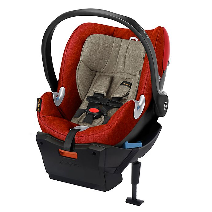 Alternate image 1 for Cybex Platinum Aton Q Plus Infant Car Seat in Autumn Gold