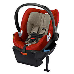 Cybex Platinum Aton Q Plus Infant Car Seat in Autumn Gold
