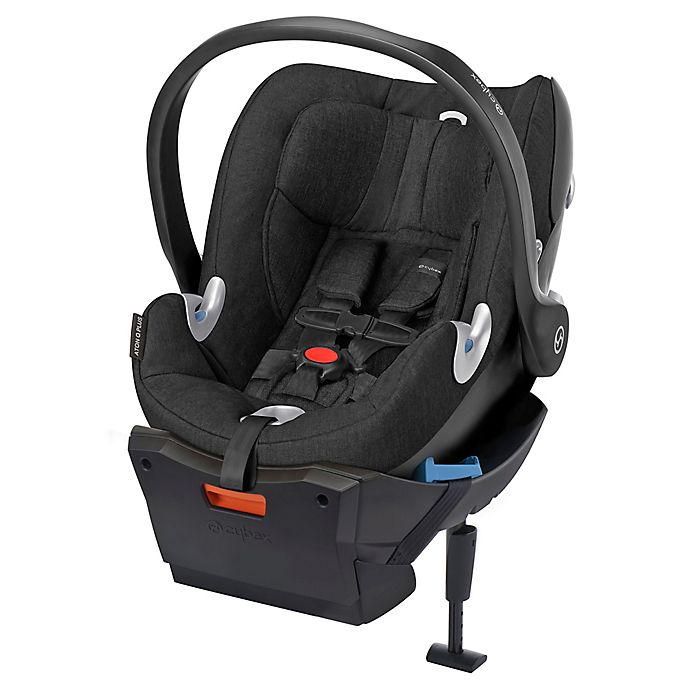 Alternate image 1 for Cybex Platinum Aton Q Plus Infant Car Seat in Black Beauty