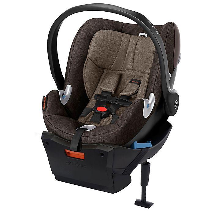Alternate image 1 for Cybex Platinum Aton Q Plus Infant Car Seat in Desert Khaki