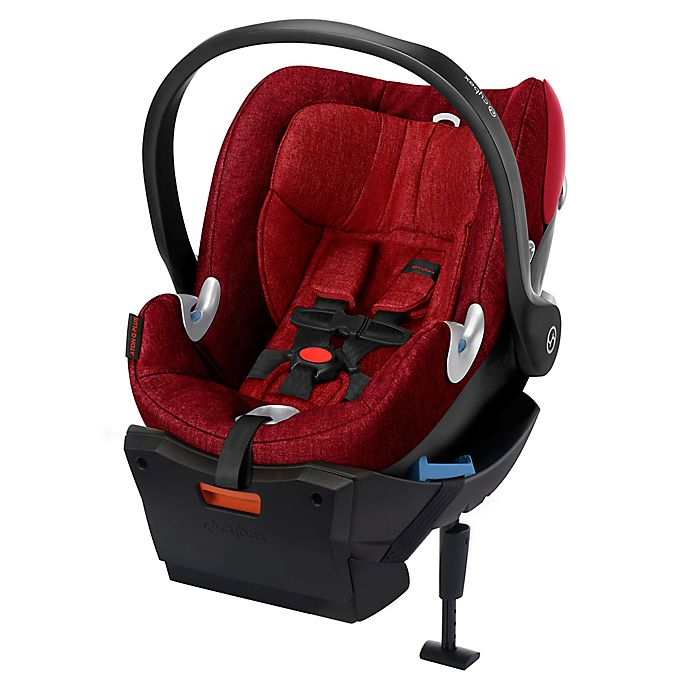 Alternate image 1 for Cybex Platinum Aton Q Plus Infant Car Seat in Hot & Spicy