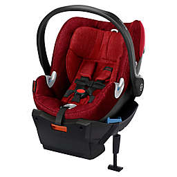 Cybex Platinum Aton Q Plus Infant Car Seat in Hot & Spicy