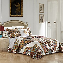 Chic Home Mahal 4-Piece Reversible Quilt Set