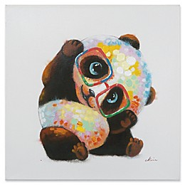Yosemite Home Décor Smarty Panda Canvas Wall Art
