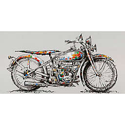 Moe's Home Collection Motorbike 55-Inch x 27.5-Inch Canvas Wall Art