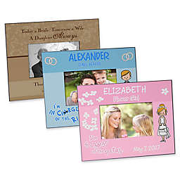 Wedding Day Character Picture Frame