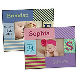 Trendy Girl/Guy Personalized Picture Frame