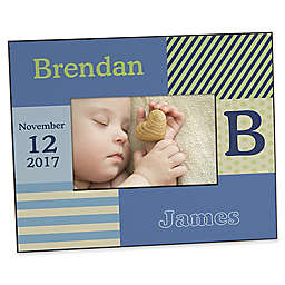Trendy Guy Personalized Picture Frame
