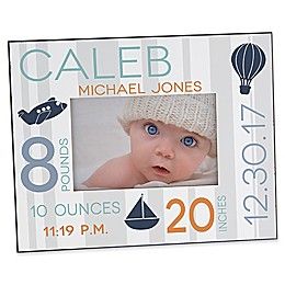 Sweet Baby Boy 4-Inch x 6-Inch Picture Frame