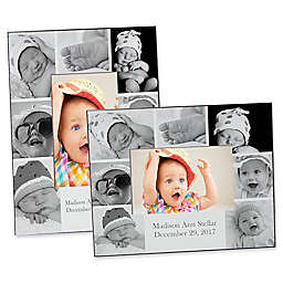 Photo Collage 4-Inch x 6-Inch Baby Picture Frame