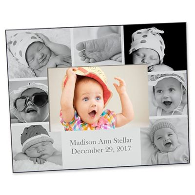 Photo Collage 4 Inch X 6 Horizontal Baby Picture Frame