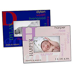 All About Baby 4-Inch x 6-Inch Picture Frame