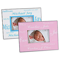 New Arrival Baby 4-Inch x 6-Inch Picture Frame