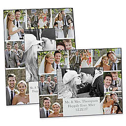 Photo Collage 4-Inch x 6-Inch Wedding Picture Frame