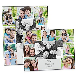 Printed Photo Collage Family 4-Inch x 6-Inch Picture Frame