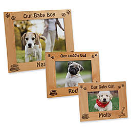 A Puppy Pose Picture Frame