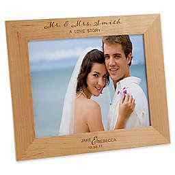 Wedding Elegance 8-Inch x 10-Inch Picture Frame