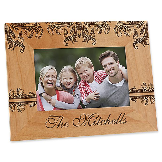 Alternate image 1 for Damask Family 4-Inch x 6-Inch Picture Frame