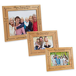 Generations of Family Picture Frame