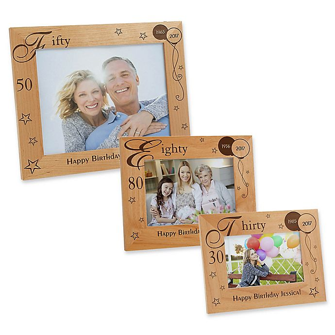 Alternate image 1 for Birthday Memories Picture Frame