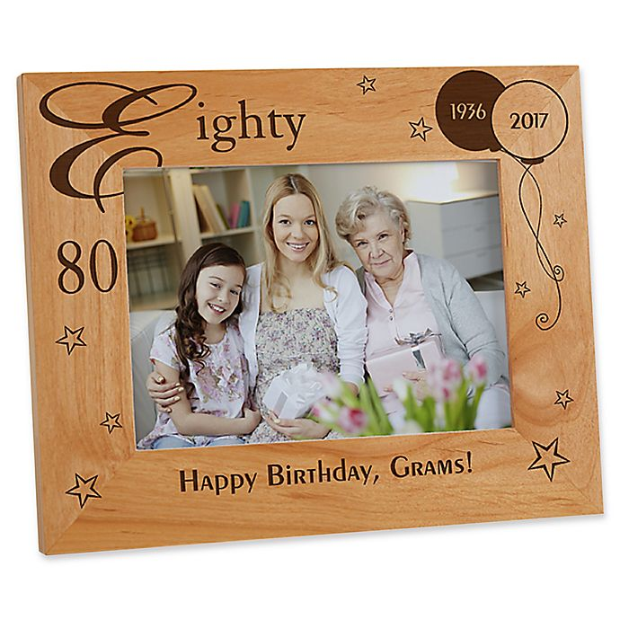 Alternate image 1 for Birthday Memories 5-Inch x 7-Inch Picture Frame
