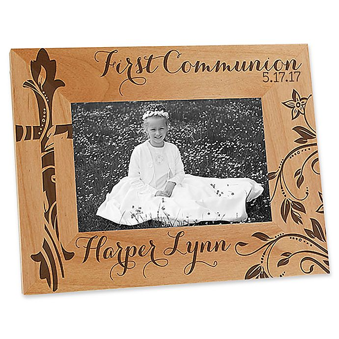 Alternate image 1 for First Communion 4-Inch x 6-Inch Picture Frame