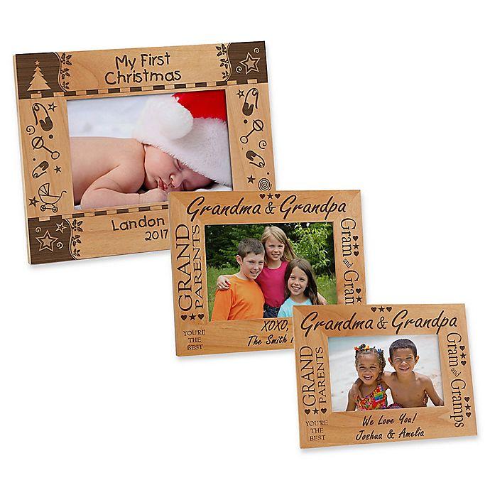 Alternate image 1 for Grandma & Grandpa Picture Frame