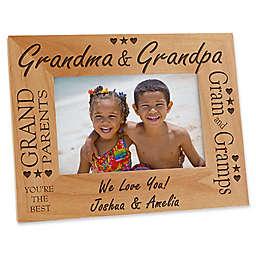 Grandma & Grandpa 4-Inch x 6-Inch Picture Frame
