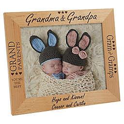 Grandma & Grandpa 8-Inch x 10-Inch Picture Frame