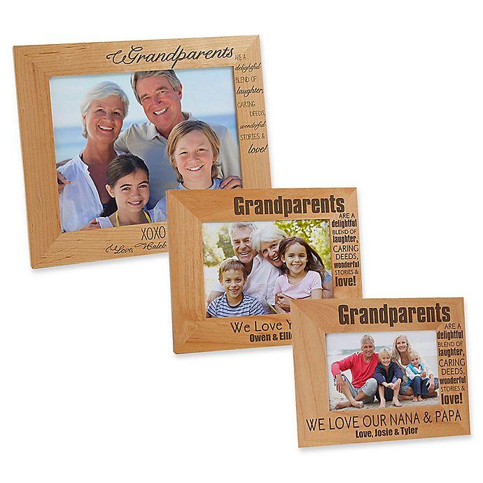 Alternate image 1 for Wonderful Grandparents Picture Frame