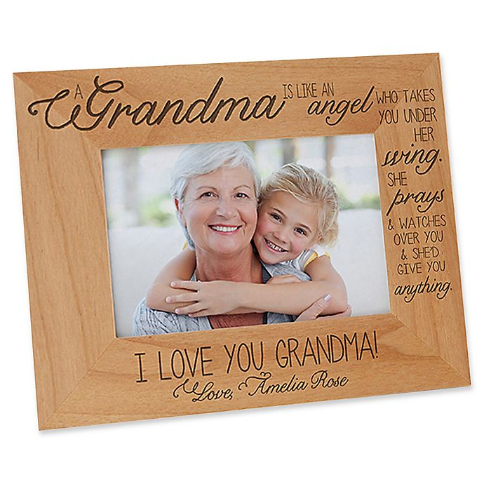 Alternate image 1 for Special Grandma 4-Inch x 6-Inch Picture Frame