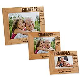 Wonderful Grandpa Picture Frame