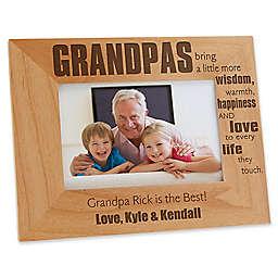 Wonderful Grandpa 4-Inch x 6-Inch Picture Frame