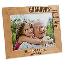 Wonderful Grandpa 8-Inch x 10-Inch Picture Frame
