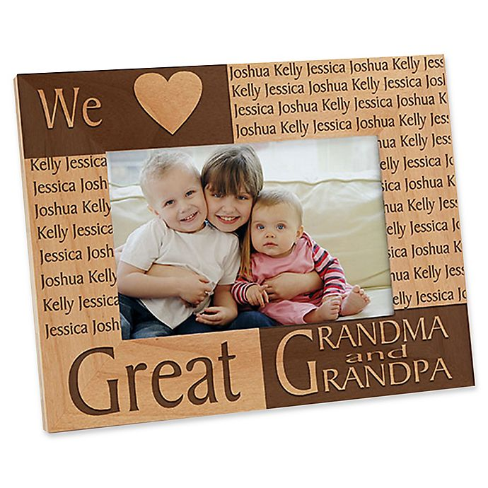 Alternate image 1 for Great Grandparent 4-Inch x 6-Inch Picture Frame